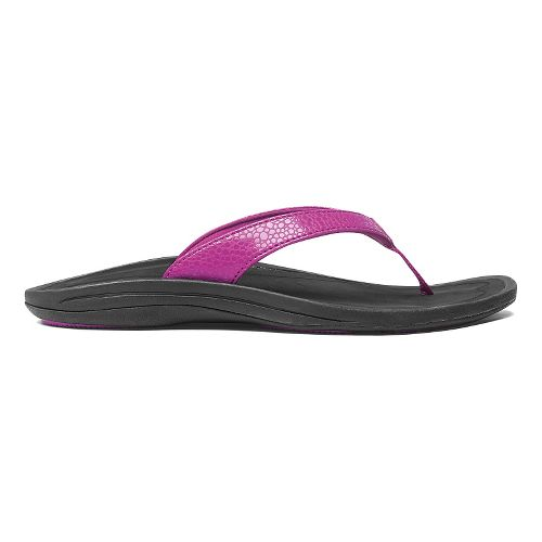 Womens OluKai Kulapa Kai Sandals Shoe - Bougainvillea/Black 8