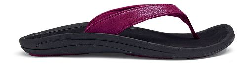 Womens OluKai Kulapa Kai Sandals Shoe - Pokeberry/Black 10