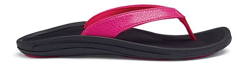 Womens OluKai Kulapa Kai Sandals Shoe - Fuchsia/Black 9