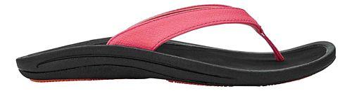 Womens OluKai Kulapa Kai Sandals Shoe - Guava Jelly/Black 9