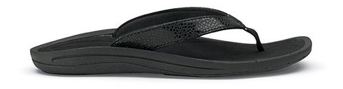 Womens OluKai Kulapa Kai Sandals Shoe - Black/Black 8