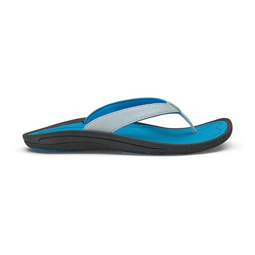 Womens OluKai Kulapa Kai Sandals Shoe - Blue 8