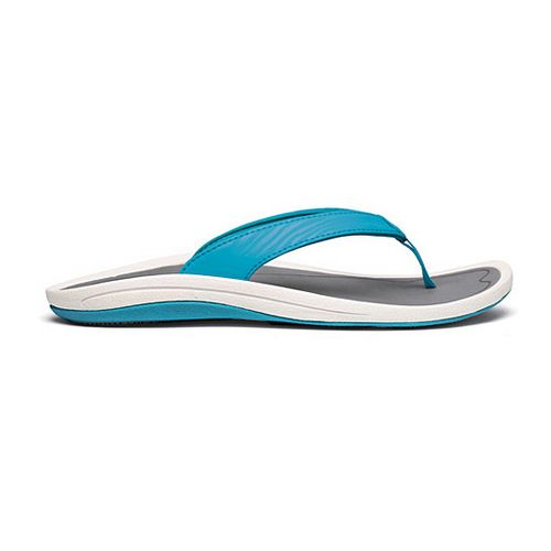 Womens OluKai Kulapa Kai Sandals Shoe - Blue/Grey 5