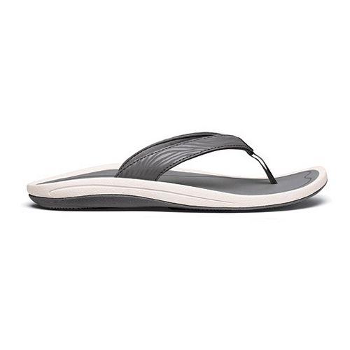 Womens OluKai Kulapa Kai Sandals Shoe - Charcoal/Grey 10