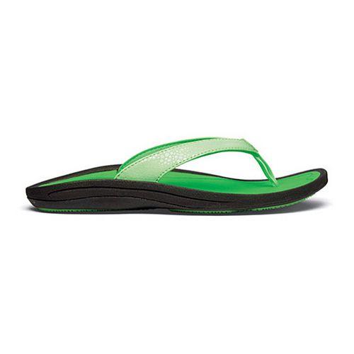 Womens OluKai Kulapa Kai Sandals Shoe - Mint/Sour Tart 10