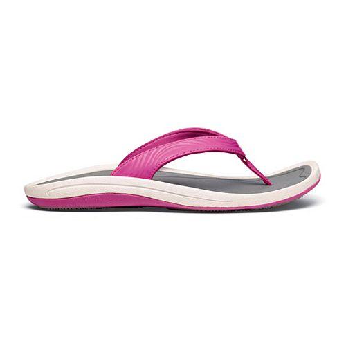 Womens OluKai Kulapa Kai Sandals Shoe - Orchid/Grey 6