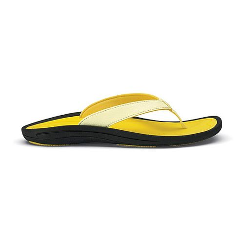 Womens OluKai Kulapa Kai Sandals Shoe - Yellow 7