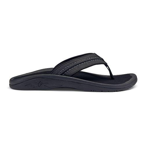 Mens OluKai Hokua Sandals Shoe - Onyx 9