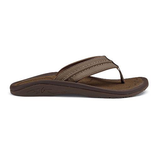 Mens OluKai Hokua Sandals Shoe - Black/Grey 15