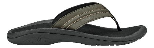 Mens OluKai Hokua Sandals Shoe - Kona/Black 15