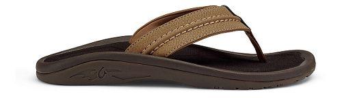 Mens OluKai Hokua Sandals Shoe - Tan 10