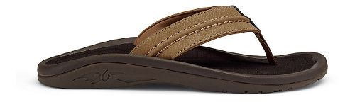 Mens OluKai Hokua Sandals Shoe - Black/Grey 8