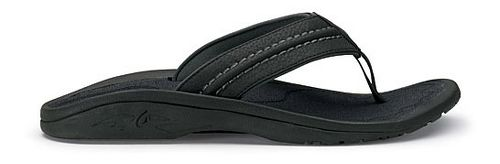 Mens OluKai Hokua Sandals Shoe - Onyx 11