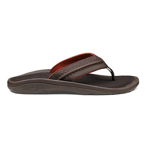 Mens OluKai Hokua Sandals Shoe - Java/Java 10
