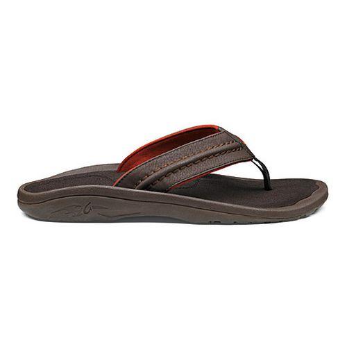 Mens OluKai Hokua Sandals Shoe - Java/Java 14