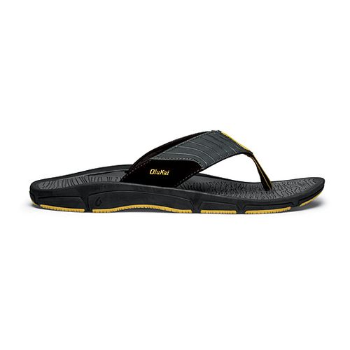 Mens OluKai Kai Ko Sandals Shoe - Dark Slate 14