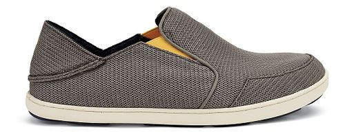 Mens OluKai Nohea Mesh Casual Shoe - Rock/Canoe 14