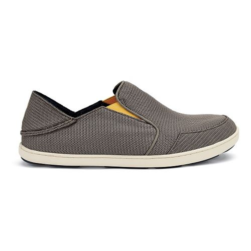 Mens OluKai Nohea Mesh Casual Shoe - Rock/Canoe 11.5