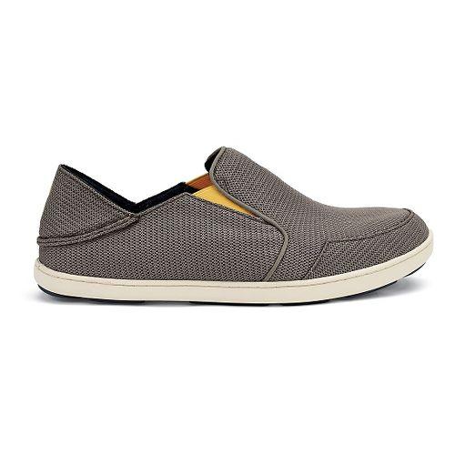 Mens OluKai Nohea Mesh Casual Shoe - Rock/Canoe 9.5