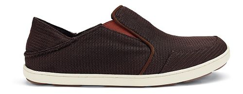 Mens OluKai Nohea Mesh Casual Shoe - Dark Java/Rojo 8