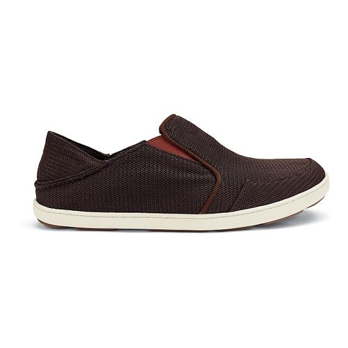Mens OluKai Nohea Mesh Casual Shoe - Dark Java/Rojo 11