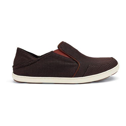 Mens OluKai Nohea Mesh Casual Shoe - Dark Java/Rojo 8.5