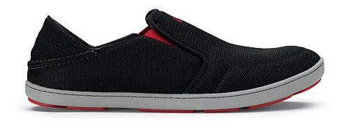 Mens OluKai Nohea Mesh Casual Shoe - Navy/Red 10