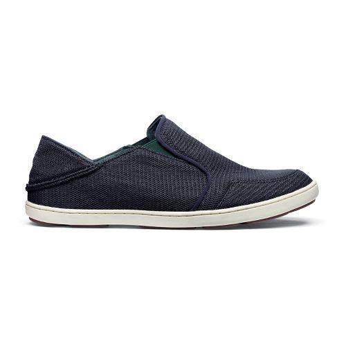 Mens OluKai Nohea Mesh Casual Shoe - Carbon/Carbon 11