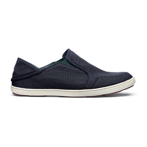 Mens OluKai Nohea Mesh Casual Shoe - Carbon/Carbon 8