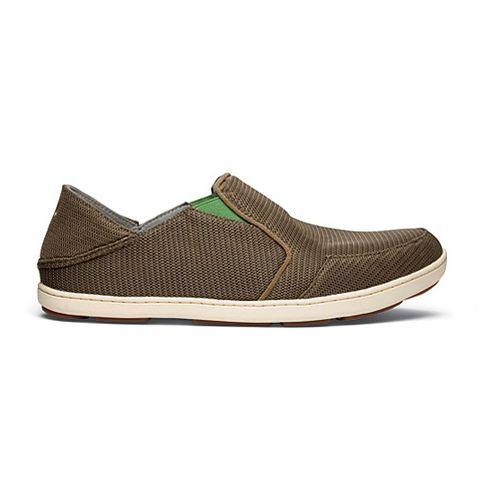 Mens OluKai Nohea Mesh Casual Shoe - Mustang/Lime Peel 7