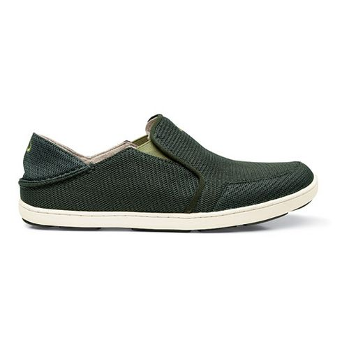 Mens OluKai Nohea Mesh Casual Shoe - Rosin/Dark Leaf 11.5
