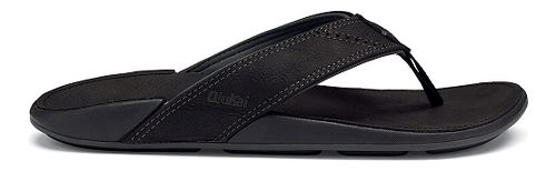 Mens OluKai Nui Sandals Shoe - Onyx 9