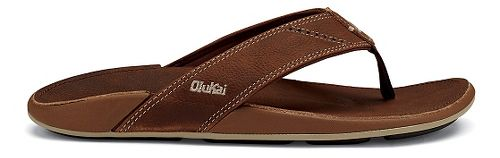 Mens OluKai Nui Sandals Shoe - Rum 14