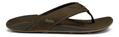 Mens OluKai Nui Sandals Shoe - Seal Brown 10