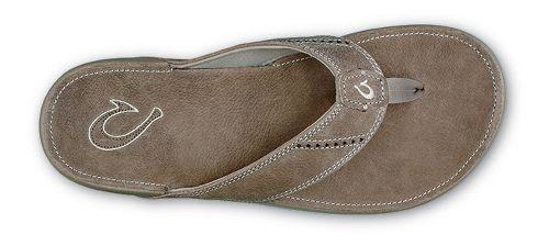 Mens OluKai Nui Sandals Shoe - Clay/Clay 7