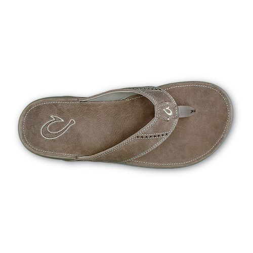 Mens OluKai Nui Sandals Shoe - Clay/Clay 11