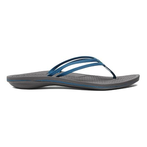 Womens OluKai Unahi Sandals Shoe - Blue/Grey 10
