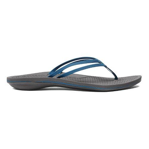 Womens OluKai Unahi Sandals Shoe - Beet Red/Black 9