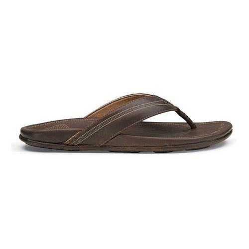 Mens OluKai Manini Sandals Shoe - Dark Java/Dark Java 7
