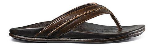 Mens OluKai Mea Ola Sandals Shoe - Dark Java/Dark Java 14