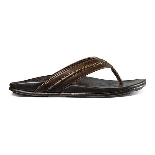 Mens OluKai Mea Ola Sandals Shoe - Dark Java/Dark Java 10