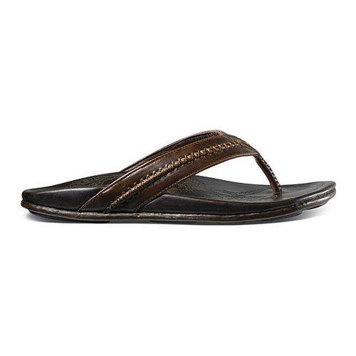Mens OluKai Mea Ola Sandals Shoe - Dark Java/Dark Java 7