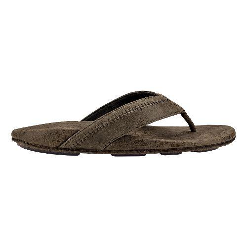 Mens OluKai Hiapo Sandals Shoe - Caldera/Caldera 8