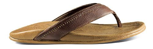 Mens OluKai Hiapo Sandals Shoe - Dark Java/Toffee 10