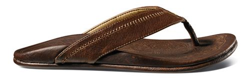 Mens OluKai Hiapo Sandals Shoe - Teak/Teak 11