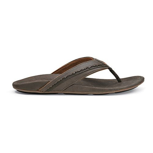 Mens OluKai Kakahi Sandals Shoe - Dark Java/Dark Java 10