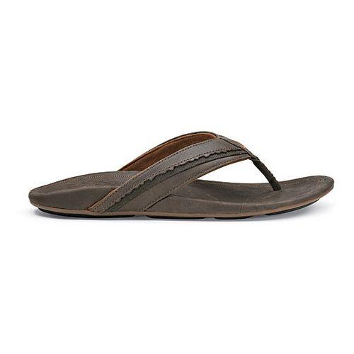 Mens OluKai Kakahi Sandals Shoe - Dark Java/Dark Java 14