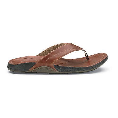 Mens OluKai Kumu Sandals Shoe - Koa/Koa 11