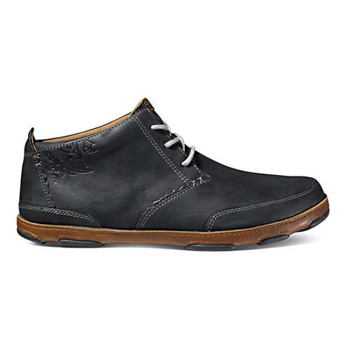 Mens OluKai Kamuela Casual Shoe - Nero/Toffee 10.5