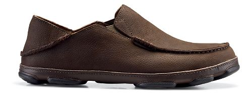 Mens OluKai Moloa Casual Shoe - Dark Wood/Dark Java 9